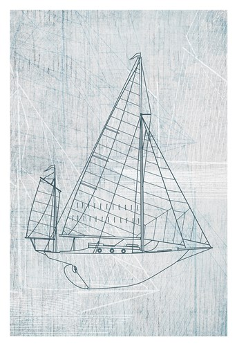 Danielas Sailboat I Poster by Aimee Wilson for $20.00 CAD