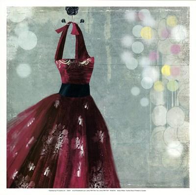 Fuschia Dress II Poster by Aimee Wilson for $15.00 CAD