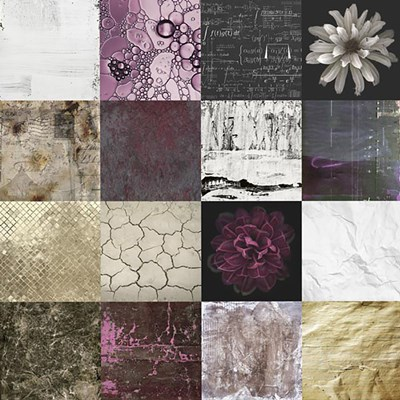Tiles Decor Purple Poster by GraphINC for $56.25 CAD