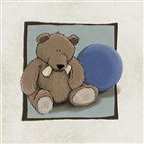 Teddy Bear and Ball