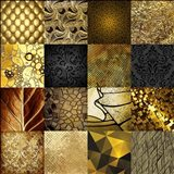 Tiles Decor Gold