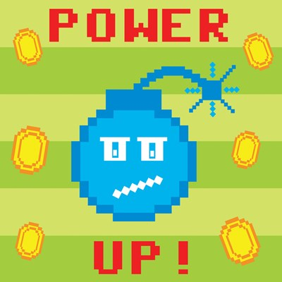 Power Up 2 Poster by Louise Carey for $53.75 CAD