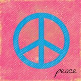 Peace Blue and Pink