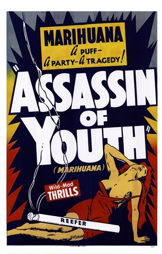 Assassin Of Youth Poster by Unknown for $25.00 CAD