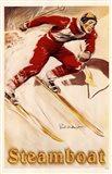 Steamboat Ski Poster