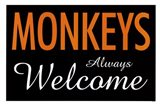 Monkeys Always Welcome