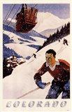 Colorado Ski Poster
