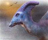Parasaurolophus Portrait