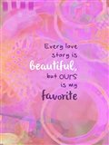 Love Story (words)