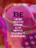 Be Loving and Encouraging (words)