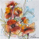 Watercolor Poppies 2