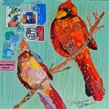 Lovebirds Cardinals