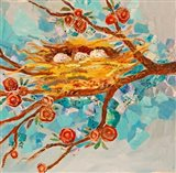 Nest with Buds
