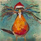 Curious Santa Bird