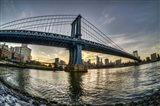 Manhattan Bridge & Skyline A