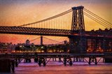 Williamsburg Bridge at Twilight
