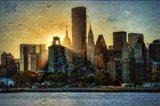Mid-Manhattan Sunset A