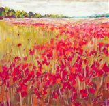 Poppies and Trees VII
