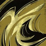 Abstract Black & Gold 2