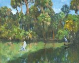Egrets In Paradise