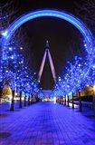 The London Eye at Christmas