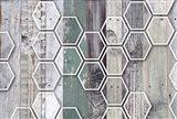 Wood Texture Geometrical 1