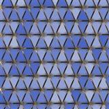 Blue Geometric 11