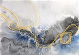 Coastal Watercolor Abstract 124