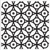 Intersezioni Di Dischi In Bianco E Nero