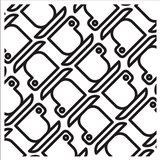 Composizione Con Tazzine In Bianco E Nero