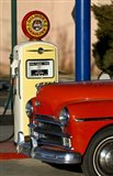 Old Car And Pump