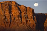 Vermillion Cliffs National Monument Moon