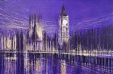 Westminster At Midnight