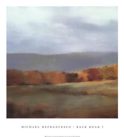 Back Road I Poster by Michael Defrancesco for $31.25 CAD
