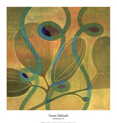 Moonflowers II Poster by Susan Melrath for $30.00 CAD