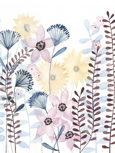 Pastel Posies I Poster by Grace Popp for $38.75 CAD