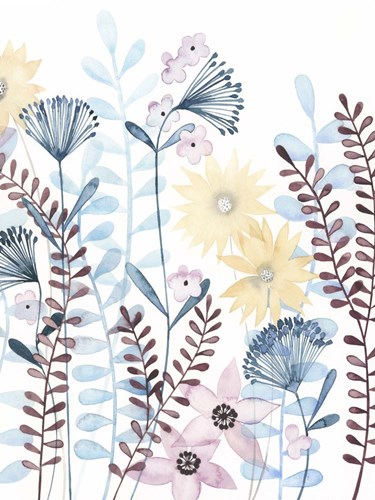Pastel Posies II Poster by Grace Popp for $38.75 CAD