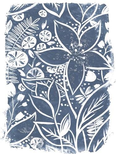 Garden Batik I Poster by June Erica Vess for $38.75 CAD
