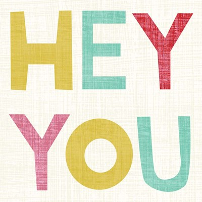 Hi You II Poster by Chariklia Zarris for $32.50 CAD