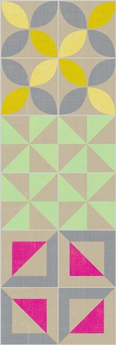 Elementary Tile Panel I Poster by Chariklia Zarris for $38.75 CAD