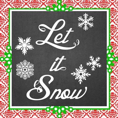 Let it Snow II Poster by June Erica Vess for $32.50 CAD