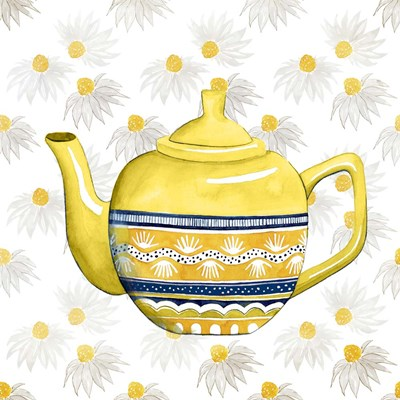 Sweet Teapot V Poster by Grace Popp for $32.50 CAD