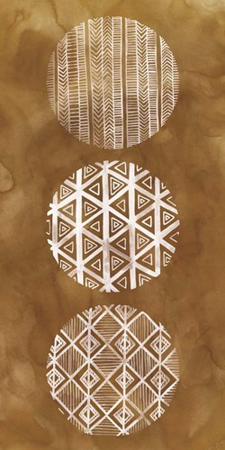 Tribal Pattern I Poster by Grace Popp for $50.00 CAD