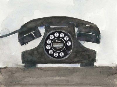 Phoning II Poster by Sam Dixon for $38.75 CAD