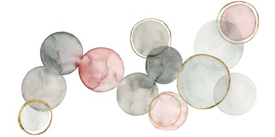 Gilded Spheres I Poster by Grace Popp for $50.00 CAD