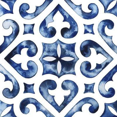 Cobalt Tile VI Poster by Grace Popp for $46.25 CAD