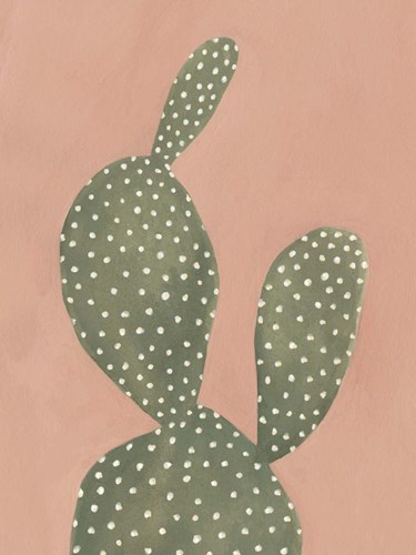 Coral Cacti I Poster by Emma Scarvey for $38.75 CAD