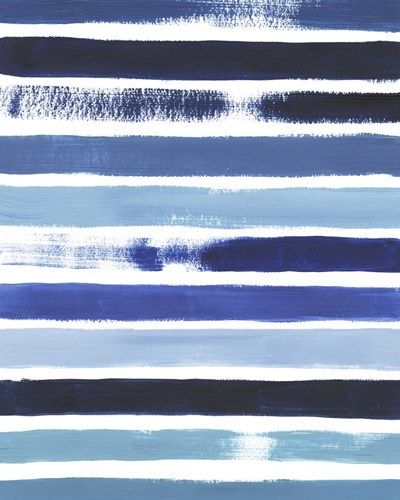 Cobalt Strokes I Poster by Grace Popp for $53.75 CAD
