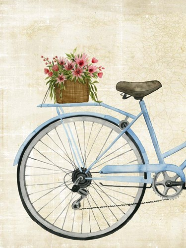 Courier Fleur I Poster by Grace Popp for $63.75 CAD