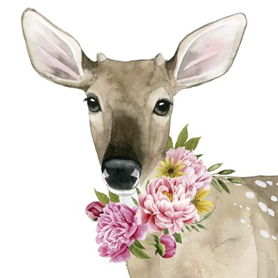 Deer Spring II Poster by Grace Popp for $32.50 CAD